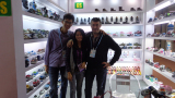 The Client Visit Greenshoe Booth in 112 Carton Fari From Russia