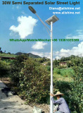 30W semi separated led solar street light