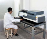 X fluorescence spectrometer experiment