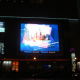 P16 LED Display advertising used in Shanghai