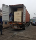 Transport machine in 1x40′ container