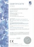 CE certificate of Pneumatic Actuator
