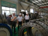 Doctor Wei Ronghua from America Southwest Reseach Insititue visit quanshun factory and give a spe