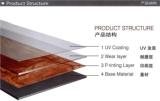 PVC floor tiles structure