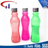 Light Green Glass Milk Bottles for Drink Glass Juice Bottle (CHW8009)