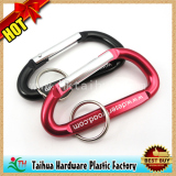 Custom Aluminum Carabiner Keychain with Promotion Gift