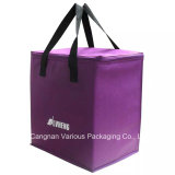 Big Capacity Non Woven Insulated Cooler Bag, carrier bag,food bag