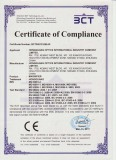 Certificate for CE