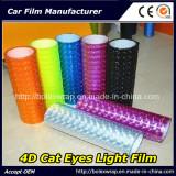 Car Head Light Film 4D Cat Eye Car Lamp Film