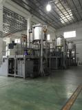 Automatic heat pressing machine for diamond segments