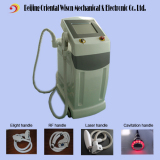4 handles Elight & RF & Laser & Cavitation machine