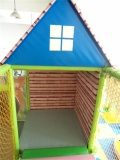 indoor playground real case roof house