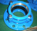 Restrained Flange adaptor for HDPE pipe