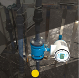 Application of electromagnetic flowmeter in Sewage plant.