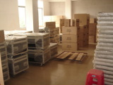 Finished product warehouse