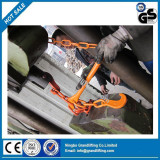 QC inspection - Lashing chain lever