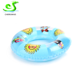 Inflatable swim ring for adult