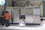 Koller 2 sets of 8 tons ice cube machine installed in South Korea
