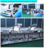 Production and testing of Ultrasonc generators for cleaners