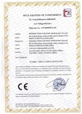Certification for SVC Voltage Regulator