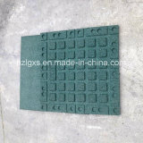 Green Recyle Rubber Flooring Tiles
