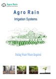 Agro Rain - Putting Water Where Required.