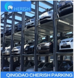 quad vechile storage car stakcer parking lift