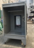 Small Powder Coating Booth on Delivery