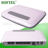 FTTH 1 PON Interface 4 10/100Mbps BASE-T Ethernet Interfaces and 2 FXS VoIP Interfaces GEPON ONU