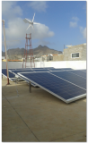 Ghana 5kw wind &solar hybrid system