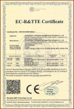 EC-R&TTE Certificate