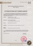 CE Certificate of Corrugated Carton Machine