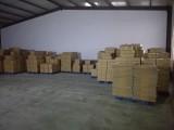 warehouse of shopping bag