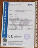HTC-1 CE Certificate