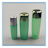 Newly Design Green Crystal Body Glass Perfume Bottle (CKGPR130328)