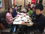 HARVEST New Year ′s Eve to eat dumplings