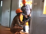 discuss skills between the customer and our factory