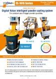 Manual powder coating equipments and guns catalogue