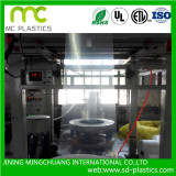 Blowing process for PE bag