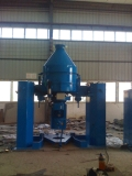 Testing CM1000-D Container Mixer for customer