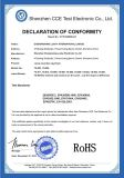 ROHS Certificate for Recorder Keychain