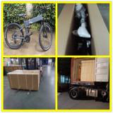 Folding Electric Bike Hidden Battery For 20′ Container