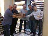 Australia Customer Birthday party in Pearlland show room