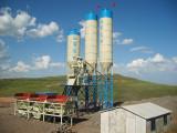 HZS50 50m3/h Concrete Batching Plant under Construction