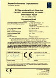 CE certificates for all flit jet skis