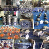 MTTA series helical shaft mounted reducer in production