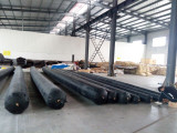 inflatable formworks with round shape