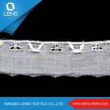 100% Cotton Mesh Tricot Lace for Girl`S Dresses