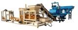 QT4-15 full automatic hydraform concrete paver brick machine