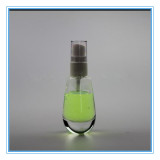 Glass Perfume Bottle with Pump and Cap (CKGPR130418)